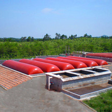 cow pig chicken manure dung big size 70m3 pvc soft biogas storage bag balloon bag equipment