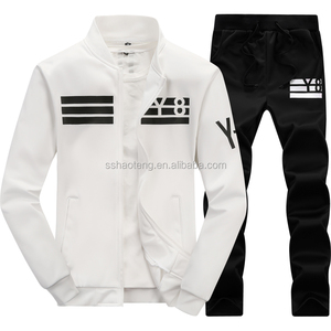 Mens jogging suits wholesale new design jersey jacket and jogging pants