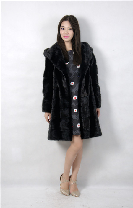 2015 font b winter b font woman fashion real mink fur real mink coat 8051 90