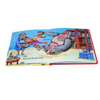 happy friends fashion small cardboard cartoon book for kids with reasonable price