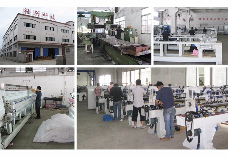 New industrial automatic feeding single needle mattress quilting machine