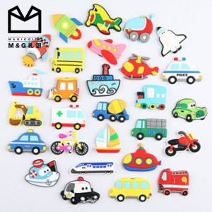 Factory Wholesale price Colorful soft PVC rubber 2d fridge magnet in stock