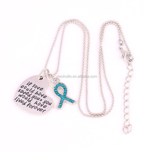 IMG 9152 Yiwu Huilin Jewelry charming crystal silk scarves letter heart crystal necklace jewelry
