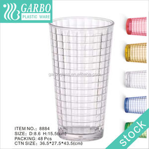 durable use plastic lemon water tumbler & breakfast milk cup unbreakable plastic cup for water