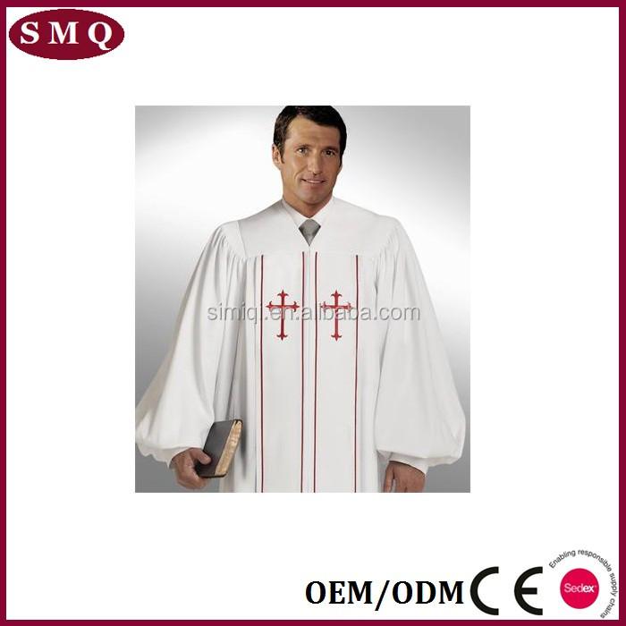 Wholesale Cheap Good Quality Custom Design Gospel Gown Clergy Robe - Buy Clergy Robe,Gospel Gown,Custom Clergy Robe Product on Alibaba.com