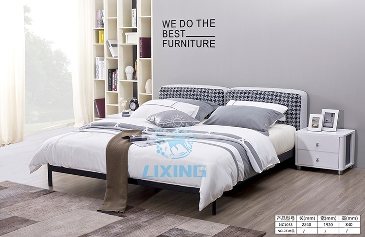 High Quality Double Bed Design Modern Cheap Bedroom Furniture Set