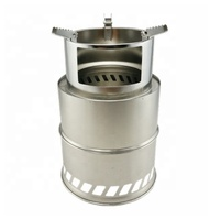 Hot sale mini portable outdoor camping wood stove