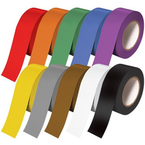 "Tape Brothers Carton Sealing Tape 2"" x 110 yds or 55 yds 2 mils, several colors"
