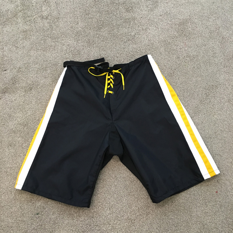Embroidery Custom Hockey Pants Shell And Goalie Cut Size Accept Your