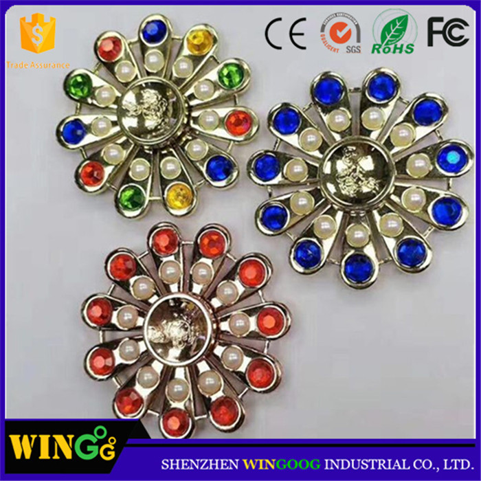Top all gyroscope spiral wind finger spinner craft pack diamond direck with reasonable price