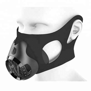 High Altitude Oxygen Breath Workout Training Silicone Face Mask