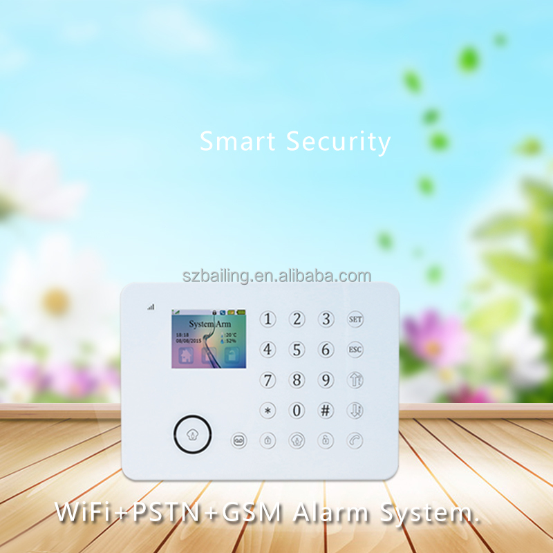 Intelligent <strong>GSM</strong> Alarm System with <strong>GSM</strong> SIM card security wireless smart security Alarm system