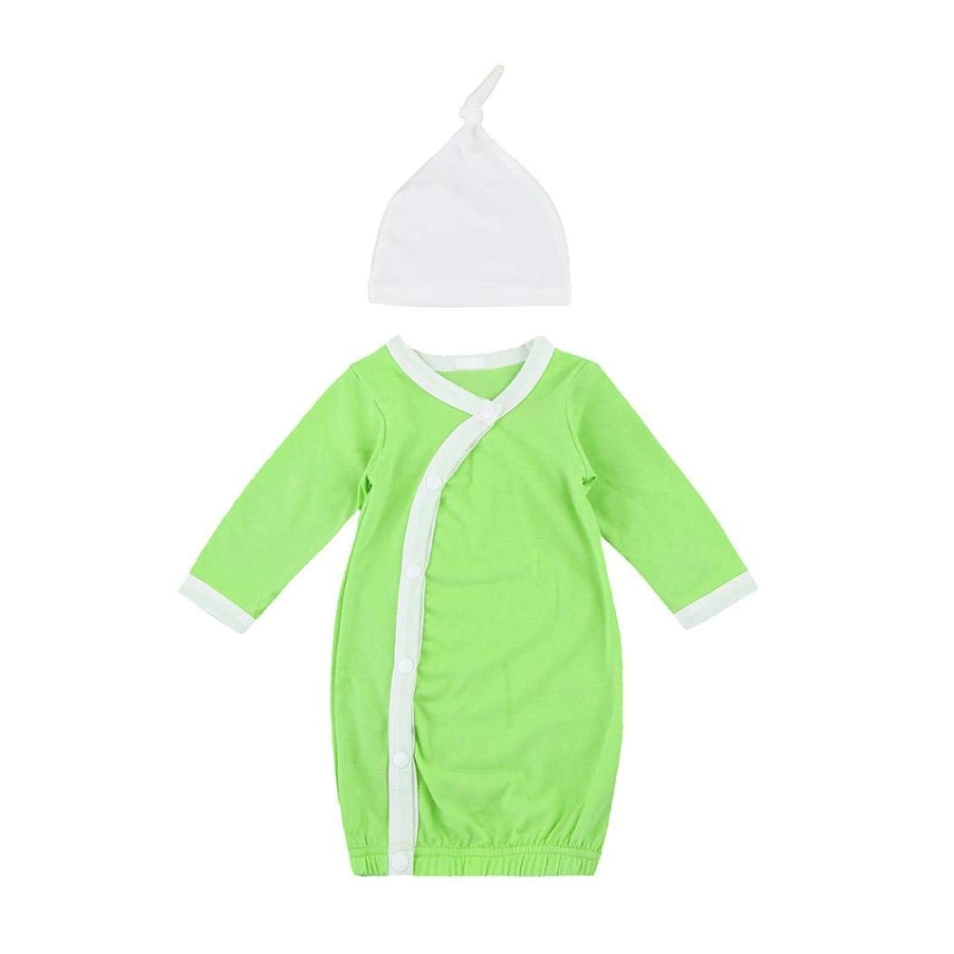 61ade7a91 Get Quotations · Kehen Kimono Gowns Blanket Sleepers Newborn Infant Baby  Boy Girl Sleep Bag Long Sleeve Gown Knot
