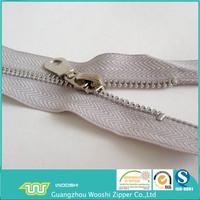 special zipper 5# metal -aluminum teeth zipper with auto-lock zipper sliders