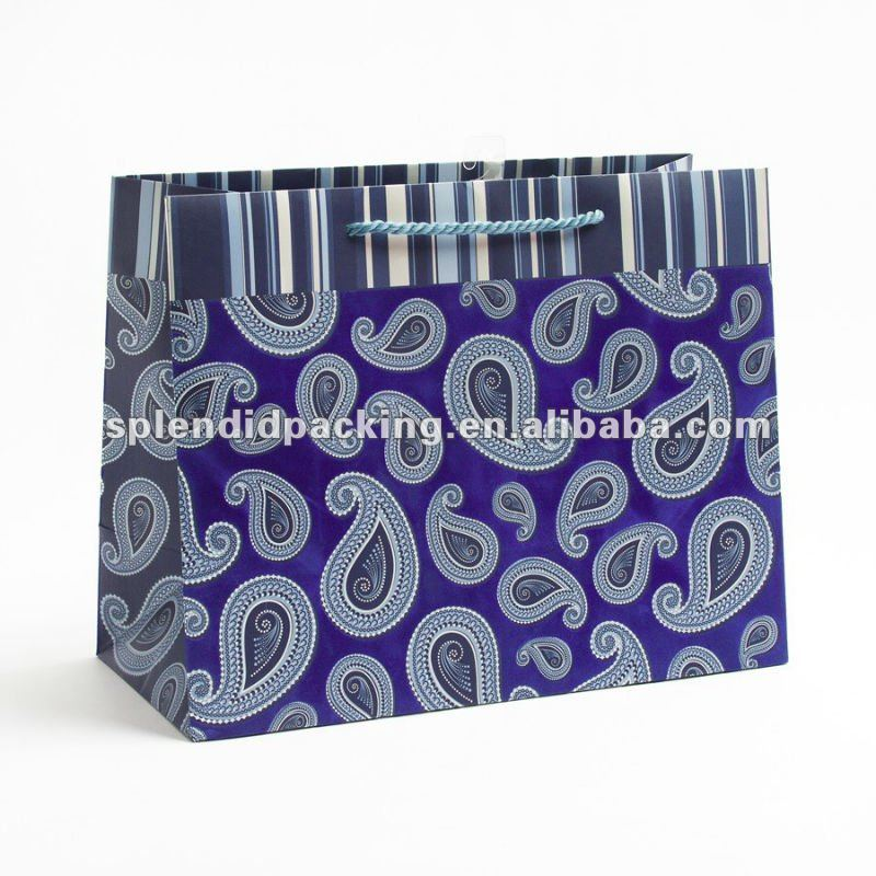 Paisley Flair Large Gift Bag