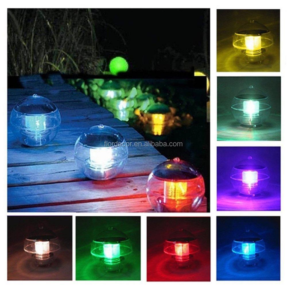 Lights & Lighting Able Uv Outdoor Spot Lamp Light Solar Pond Lights Garden Pool Waterproof Fancy Colours