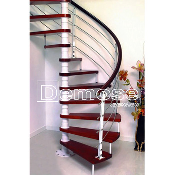 Exterior Stair Stainless Steel Spiral Staircase Design /prefabricated  Outdoor Metal Stairs