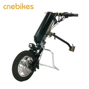 China manufacturer 36v 250w electric wheelchair motor in handcycle with battery