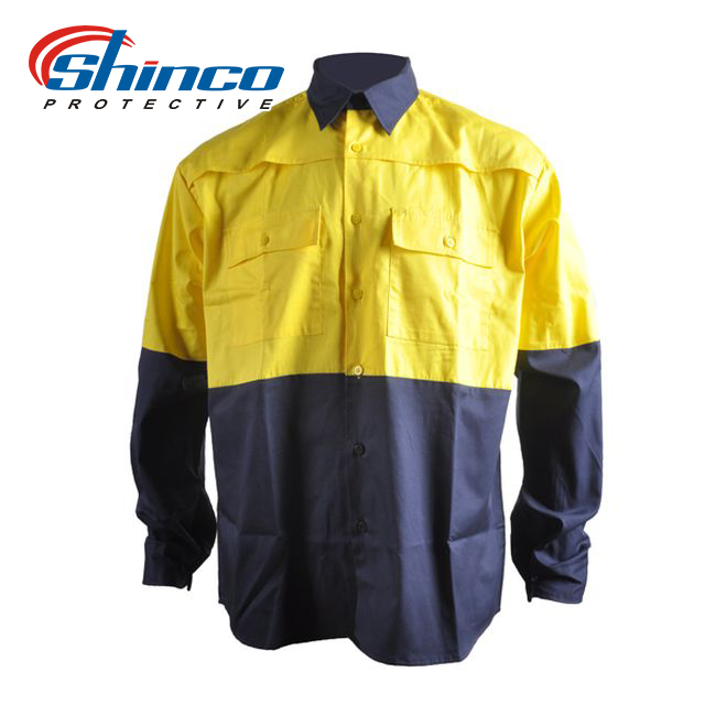 100% cotton uv protective clothing