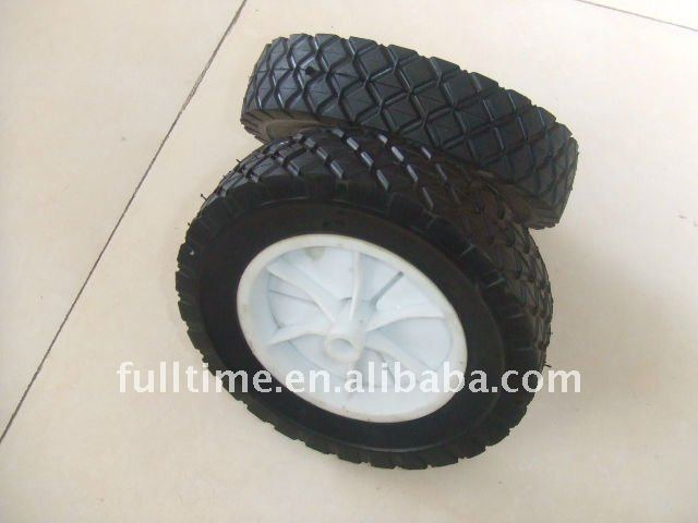 Solid Rubber Wheel 6x1.5""