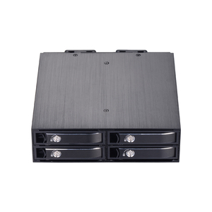 4-bay 2.5 inch internal HDD/SSD enclosure SATA mobile rack support hot-swap plug with cooling fan