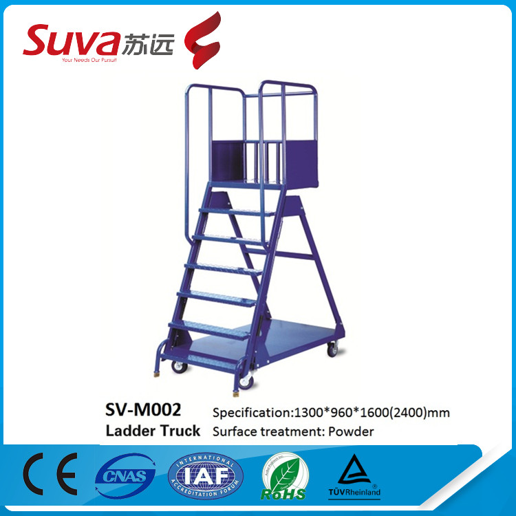Warehouse Supermarket Partable Step Moveable Stairs Rolling Ladders Safety  Step Ladders   Buy Safety Step Ladders With Handrail,Decorative Step  Ladders ...