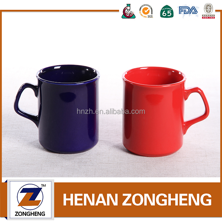 AB grade Quality Advertising Color Glazed Logo Printed Mug