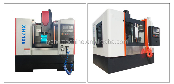 xk7130 low cost metal cnc 3 axis milling machine
