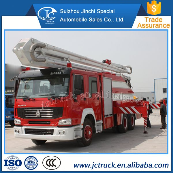 Hot sale CLW SPRAY WATER AND FOAM Aerial ladder fire truck sale
