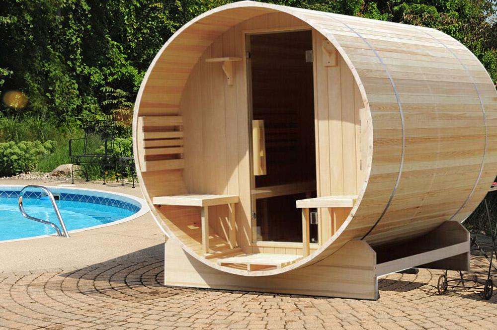 Sauna In Huis : Personen massief houten vat voor tuin sauna huis buy