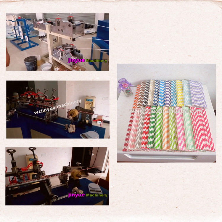 MC - 530 paper drinking straw making machine ( 100 pieces per minute ) paper straw packaging machine