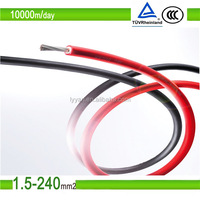 Manufacturer Pvf1-F 4mm 6mm 10mm 16mm 25mm 35mm PV solar Cable