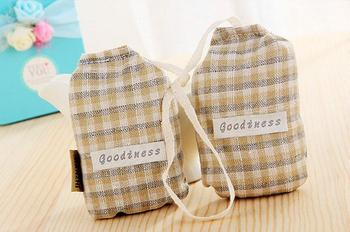 Canvas Fabric Perfume Aroma Sachet Bags For Closet Air Freshener