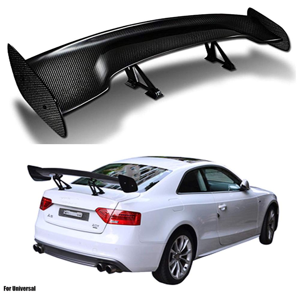 Carbon Fiber Rear Spoiler Wing For Universal cars Rear Spoiler