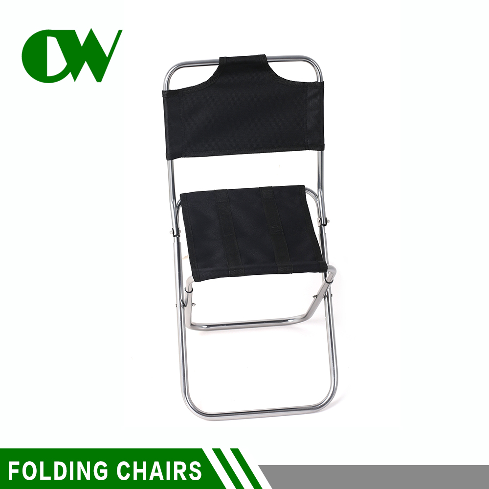 The cheapest Chinese padded black travel pocket sea import beach used folding chairs wholesale