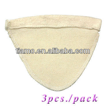 D01 Coffee Cloth Sock Filter with hanger ,3pcs/pack