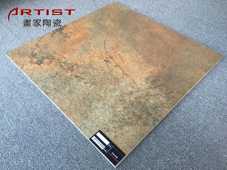 Oude maansteen porseleinen tegel voor look en muur 60x60 cm