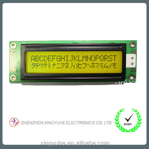 Newest design display parts Character lcd display for 20x2 characte