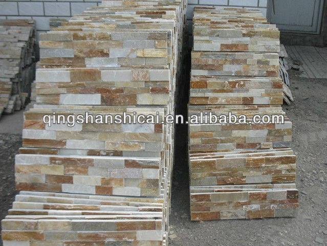4 strips exterior stacked stone tiles slate stacked wall tile slate stacked wall veneer tile decorative brick veneer tile buy 4 strips exterior stacked