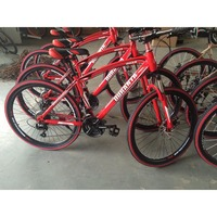 21 speed steel frame adult mountain cycle/bicycle
