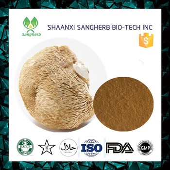 Anti-Cancer herb extract Lion's Mane Mushroom or Hericium Erinaceus Extract