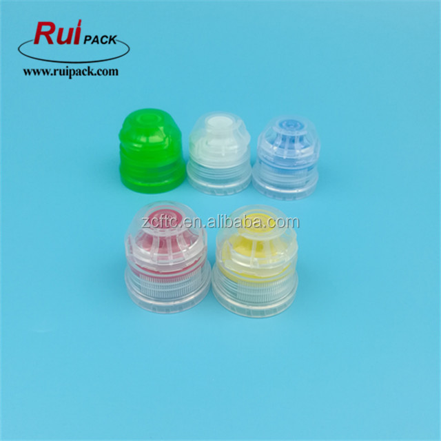 28mm Pco 1881 Neck Finish Sports Water Bottle Cap In  Green/white/blue/red/yellow - Buy Sports Cap,Sports Bottle Cap,Water Bottle  Sports Cap Product on