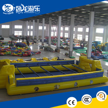 Popular CE approval inflatable soccer field, outdoor inflatable game for sale