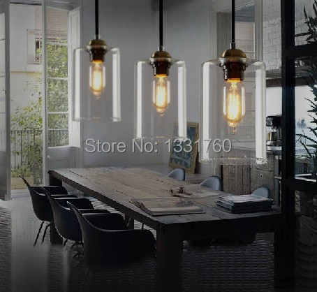 dining room living room bar pendant light modern glass pendant lamp vintage bulb modern crystal. Black Bedroom Furniture Sets. Home Design Ideas