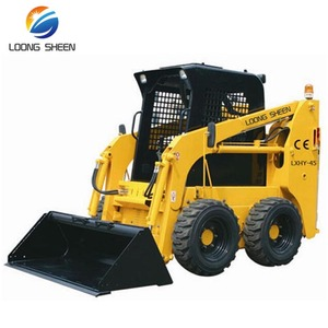 Hot sale LXHY-45 700KG mini skid steer loader with attachments