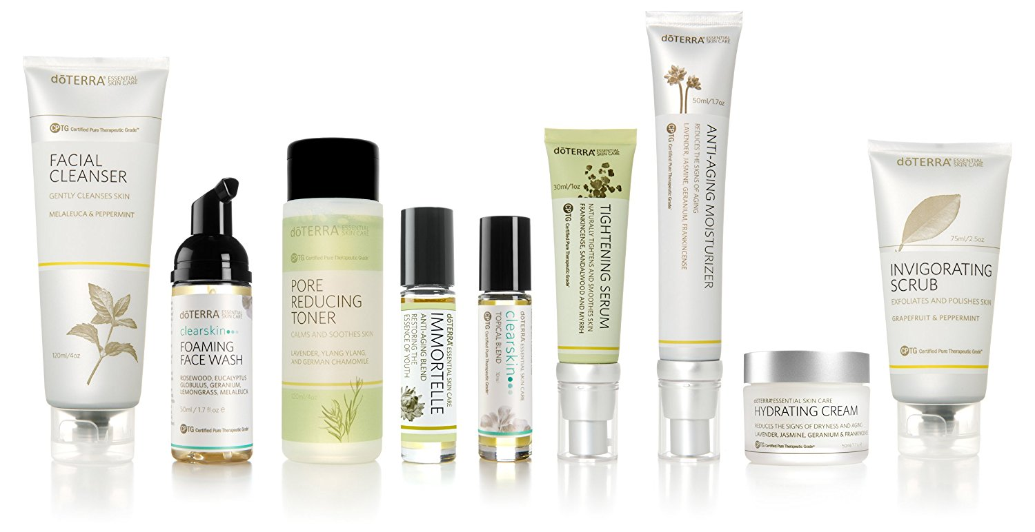 doTERRA - Total Skin Care System - Essential Skin Care Collection