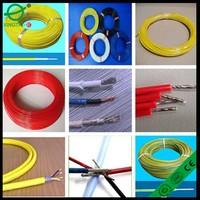 28Awg yellow/green/black teflon electric wire