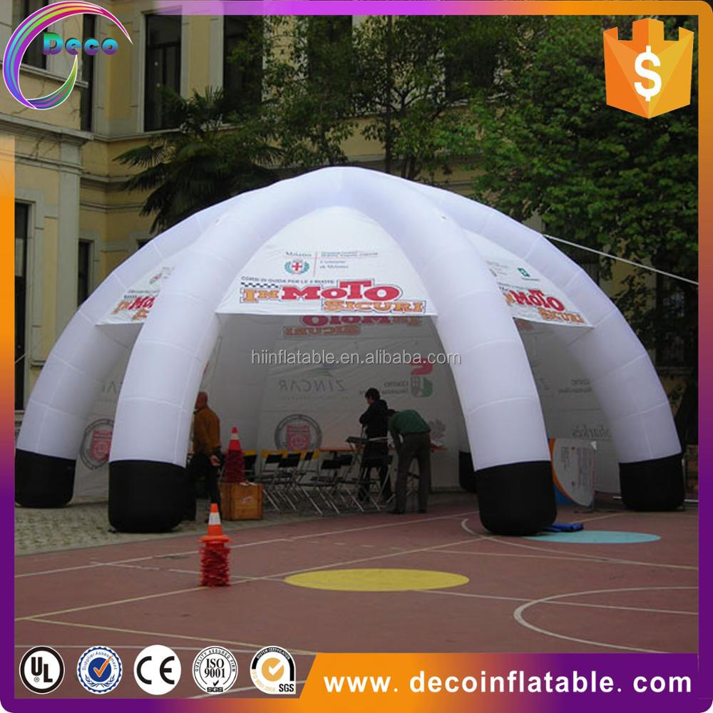 2017 China Spider Air Tight Inflatable Lawn Dome Tent For Outdoor Event
