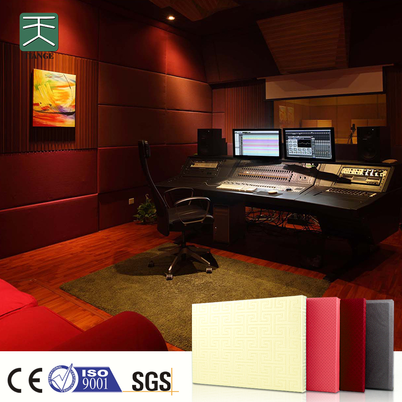 TianGe Recording studio fabric covered acoustic panels for walls
