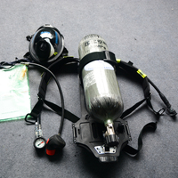 Fire fighting equipment RHZK6.8L Positive Pressure Air Breathing Apparatus SCBA